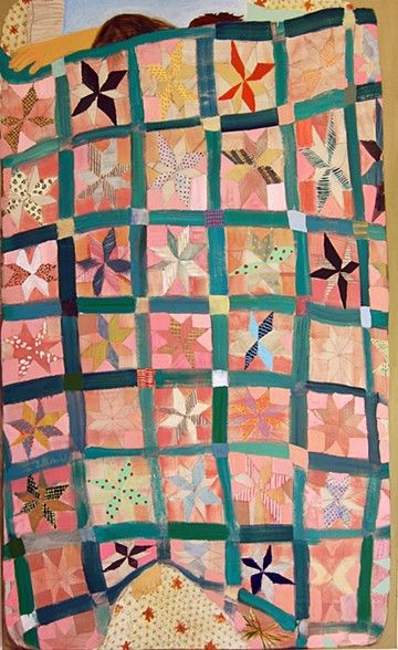 Quilt Painting - Giordanne Salley