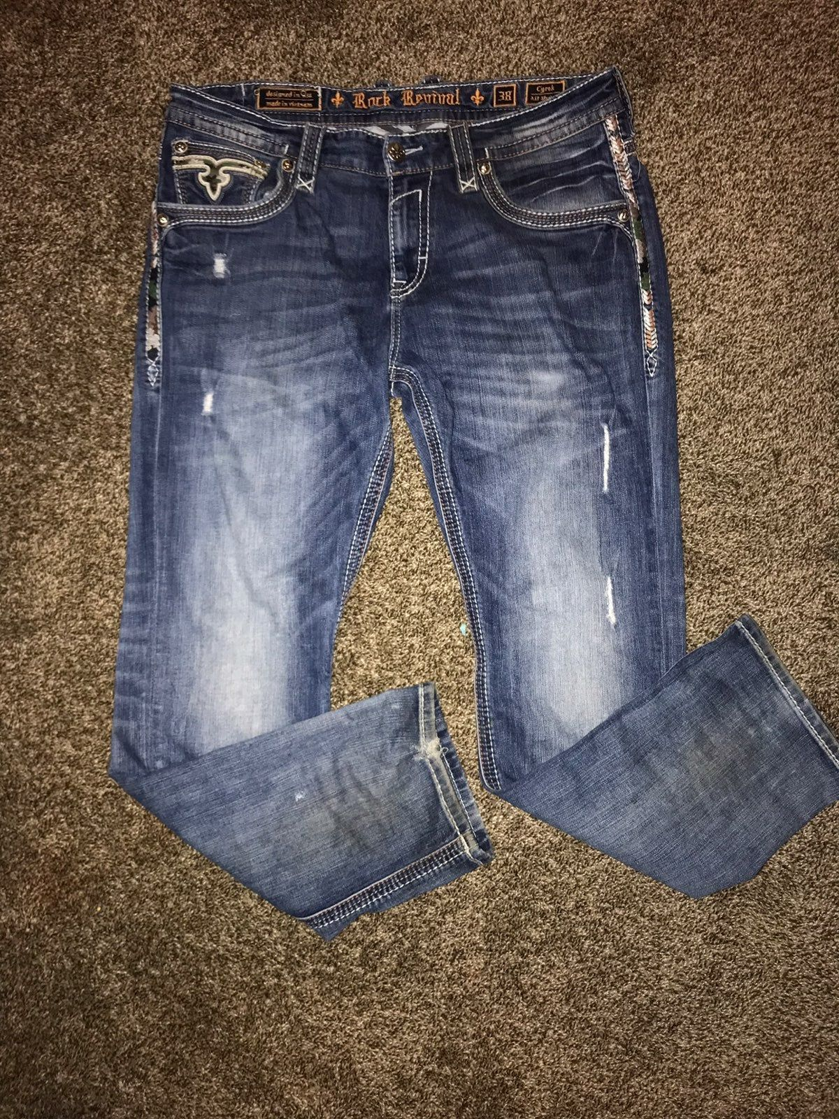 Rock Revival Jeans Size 38 Rock Revival Jeans Rock Revival Jeans