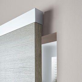 Système Coulissant Pour Pose Invisible Porte Bois Easy House - Porte coulissante invisible