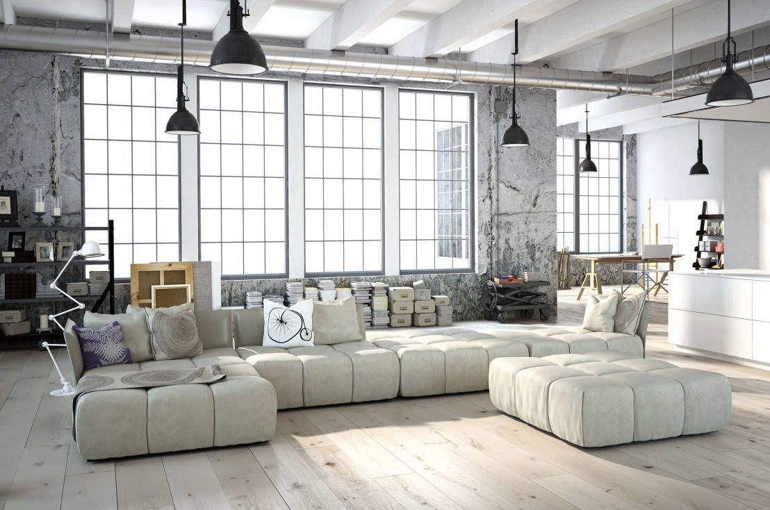 9 spektakuläre Wohnzimmer Ideen | Lofts, Living rooms and Minimalist