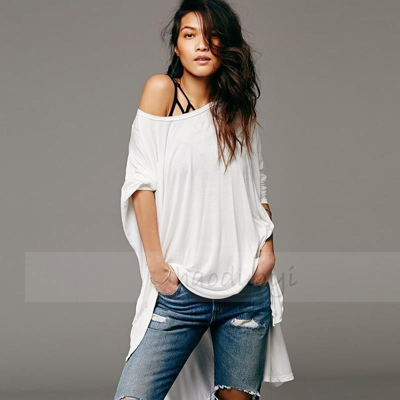 Gorgeous T Shirt Women Cotton Loose Sexy T-shirts