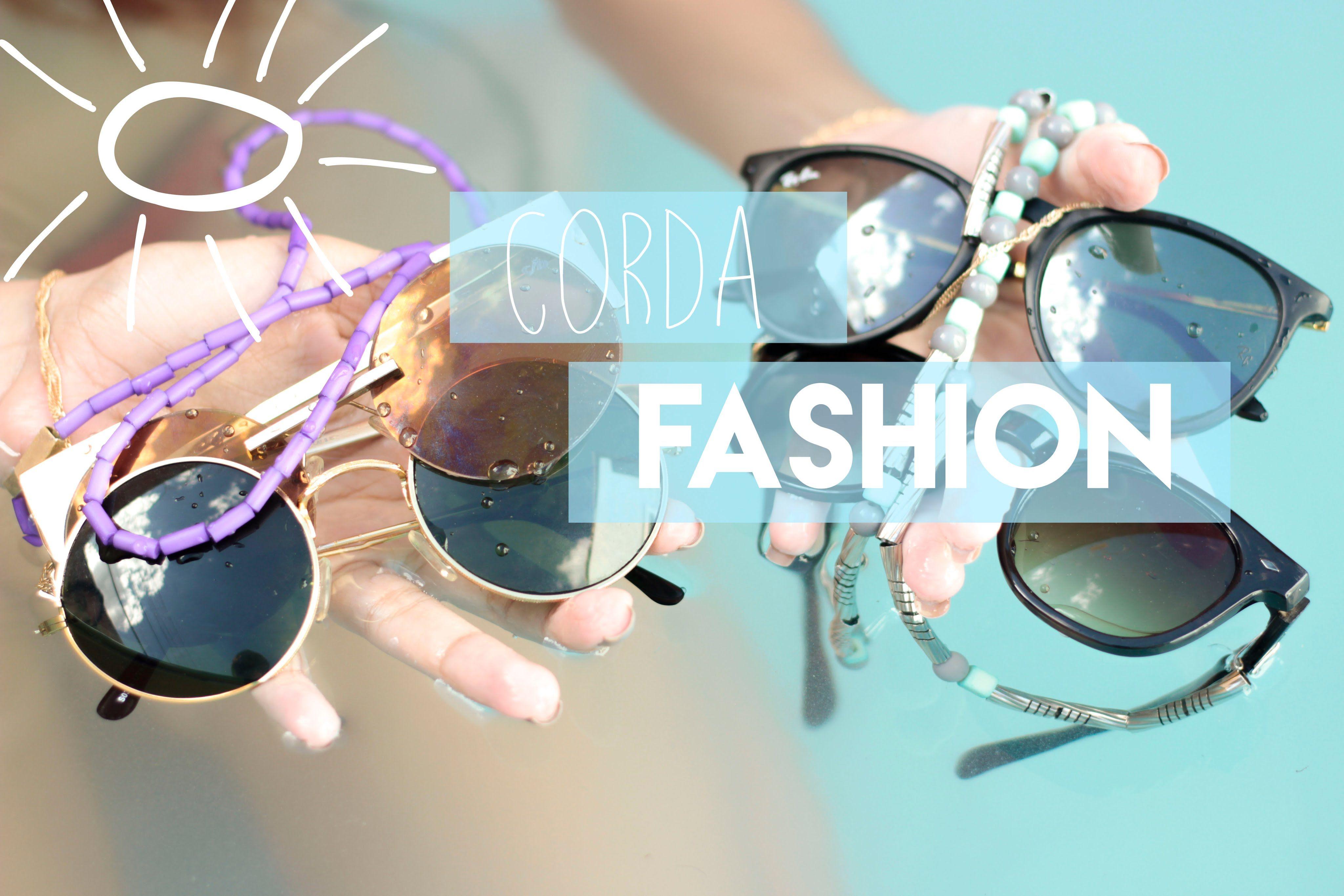 7c4790745 DIY: Cordinha de óculos Fashion | ACESSÓRIOS DIY | Cordinha oculos ...