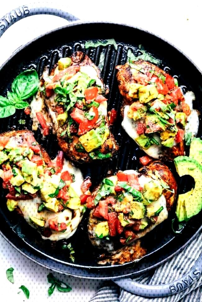 Grilled California Avocado ChickenGrilled California Avocado ChickenGrilled California Avocado Chic