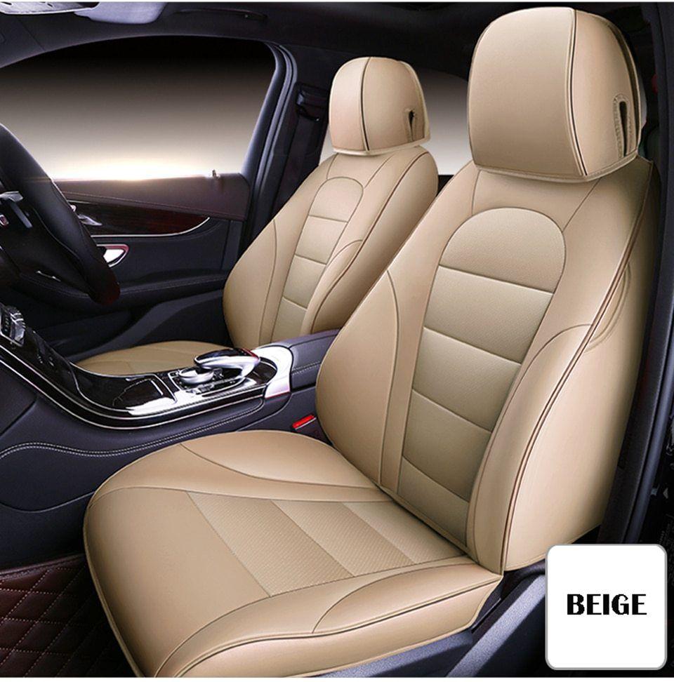 Car seat covers fit Audi A3 black//beige  leatherette full set