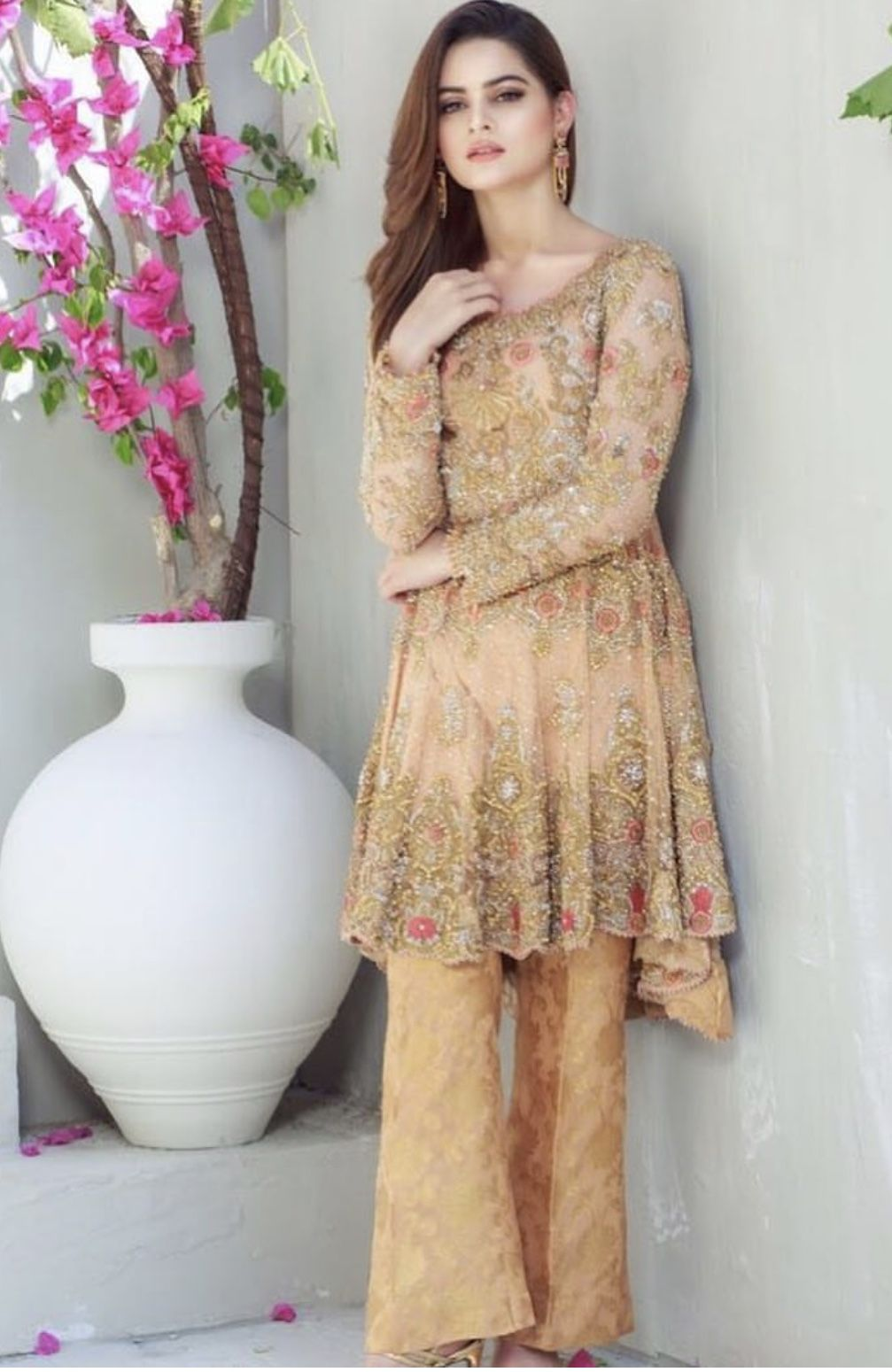 aaila hoorain | indian designer outfits, fancy dress design