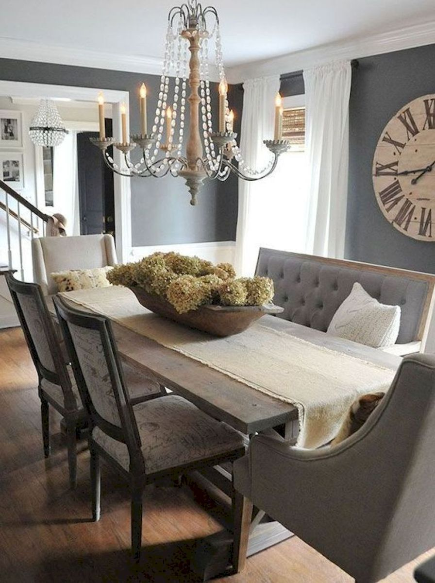 93 awesome modern farmhouse dining room design ideas dining room rh pinterest com