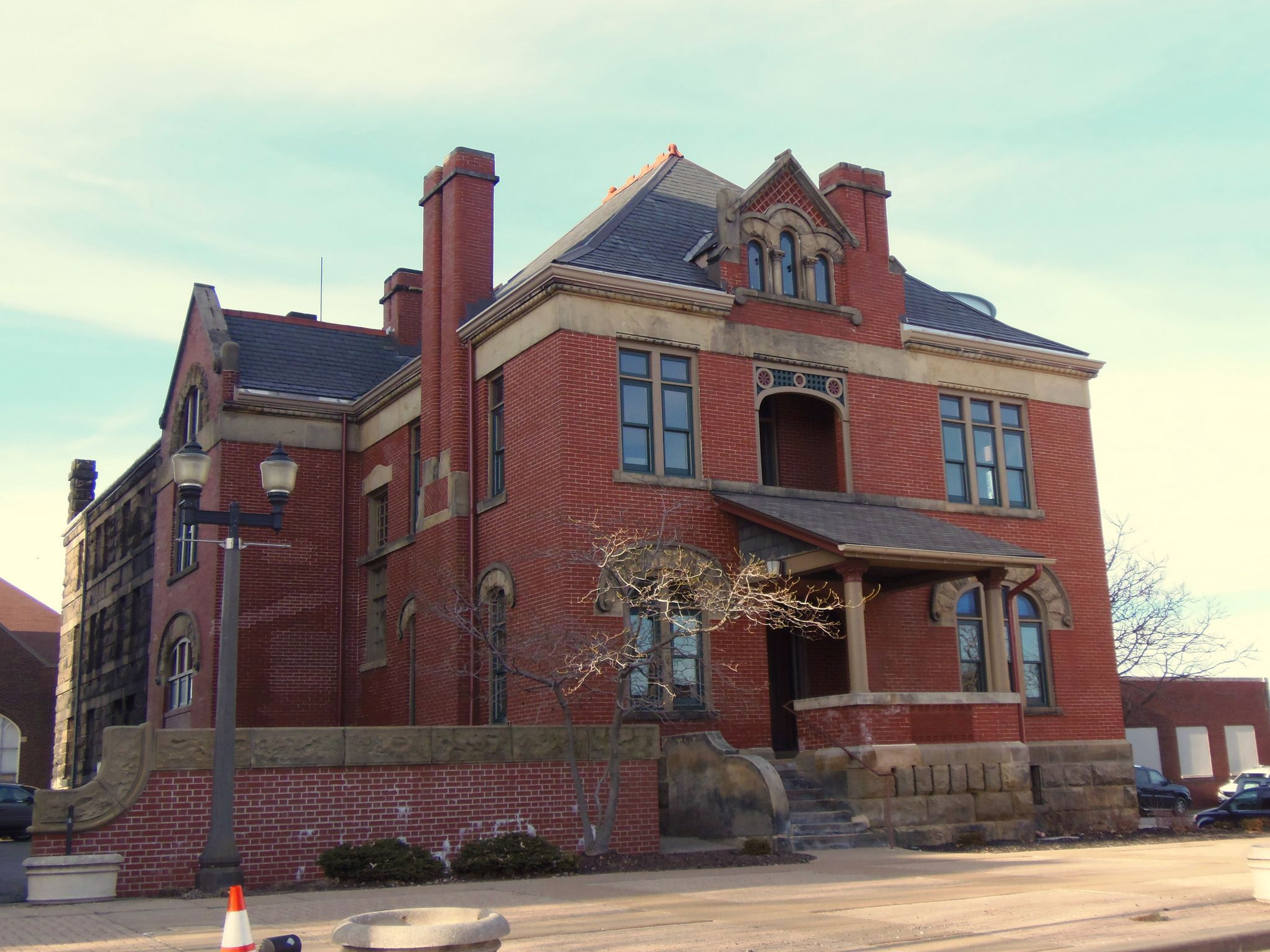 Belmont county sheriff residence museum house styles