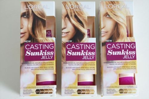 L Oreal Casting Sunkiss Jelly 01 02 03 For Natural Hair Gradual Lightening Casting Sunkiss Jelly Casting Sunkiss Natural Hair Styles