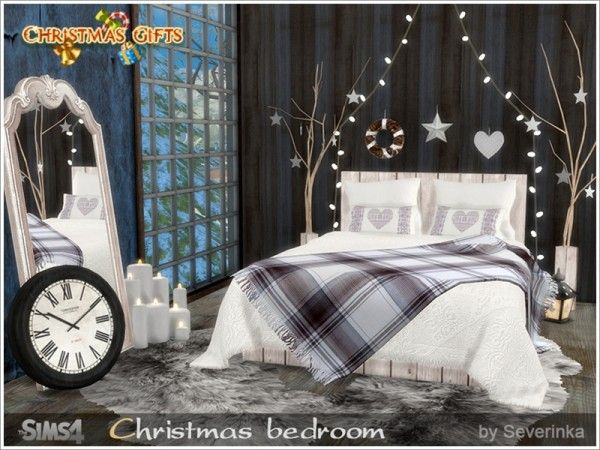Decorazioni Natalizie The Sims 4.The Sims Resource Christmas Bedroom By Severinka Sims 4 Downloads