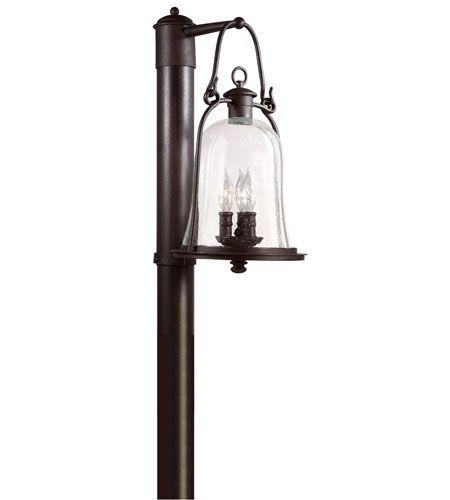 Troy Lighting P9465nb Owings Mill 3 Light 20 Inch Natural Bronze Post Lantern Post Lights Troy Lighting Post Lighting