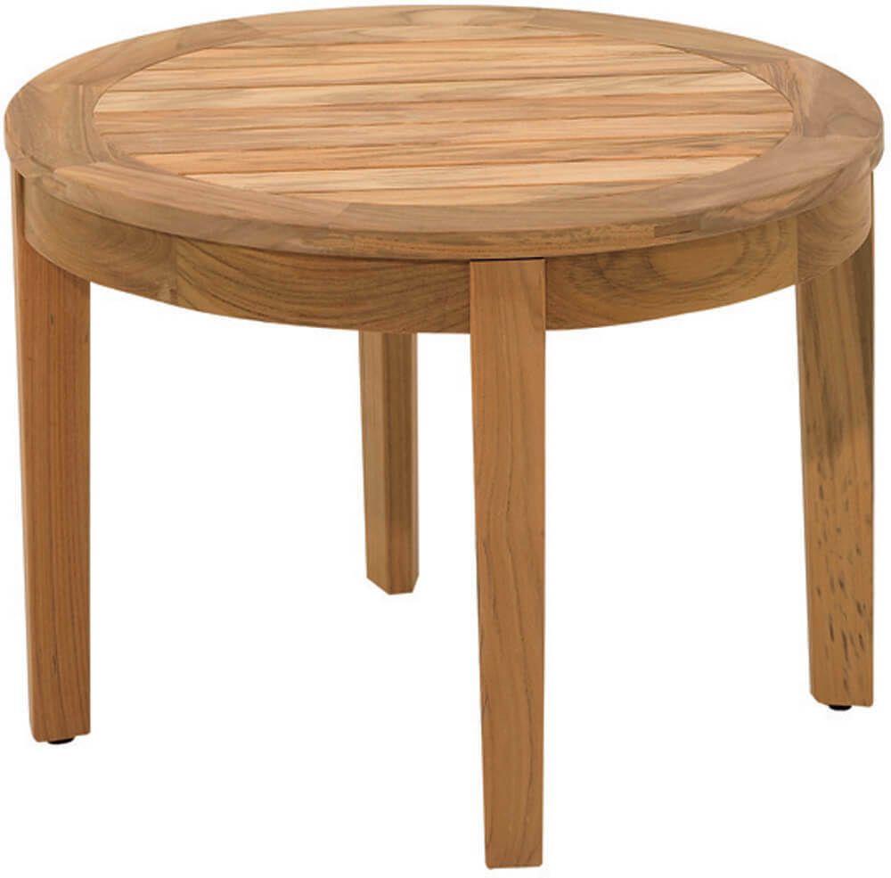 Modway Marina Outdoor Patio Teak Round Coffee Table Natural Teak Patio Furniture Teak Outdoor Coffee Table Teak Coffee Table [ 1000 x 1000 Pixel ]