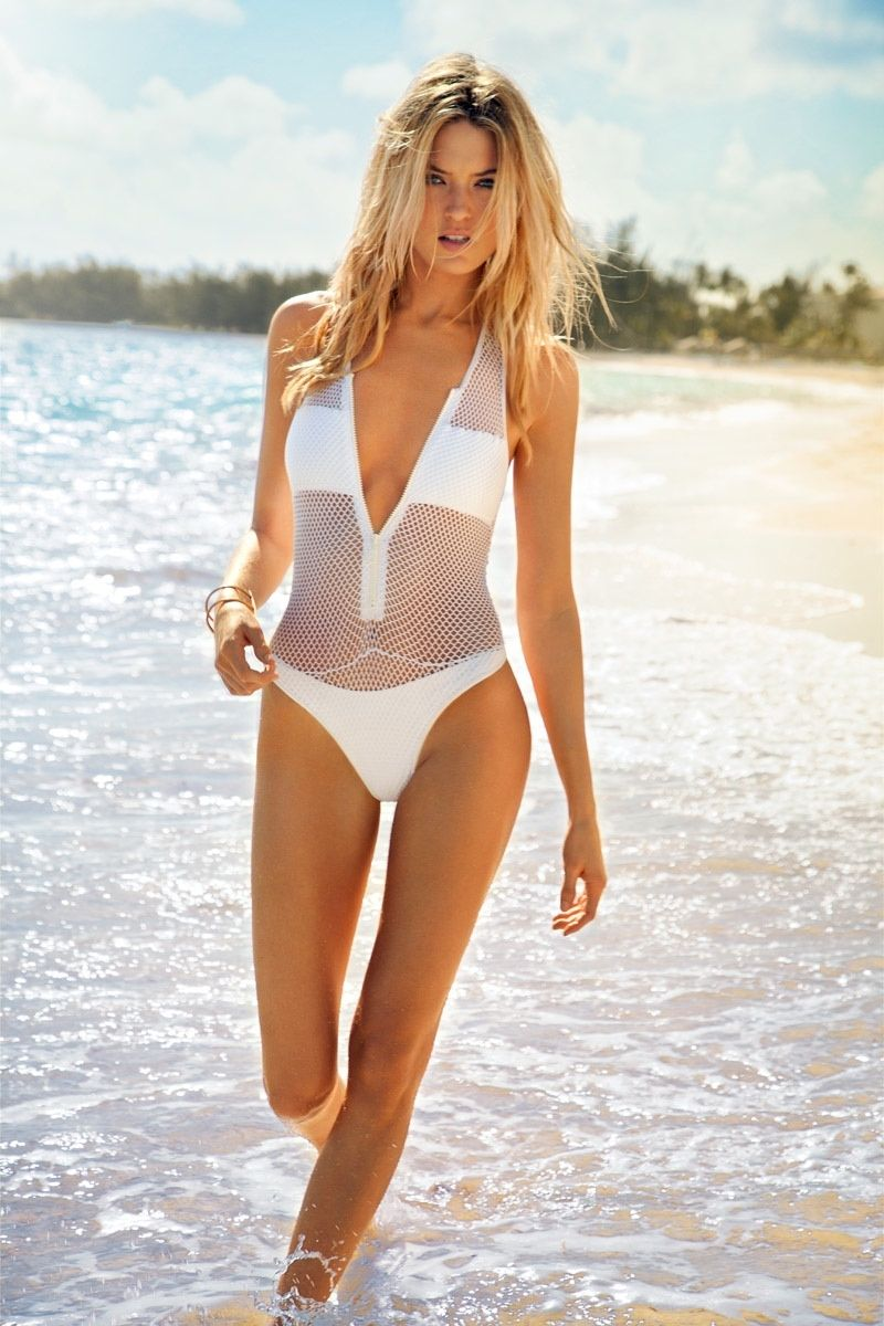 b69cd9c2b9 Martha Hunt Sizzles in Ocean Drive Cover Story by Randall Slavin Bikini  Swimwear