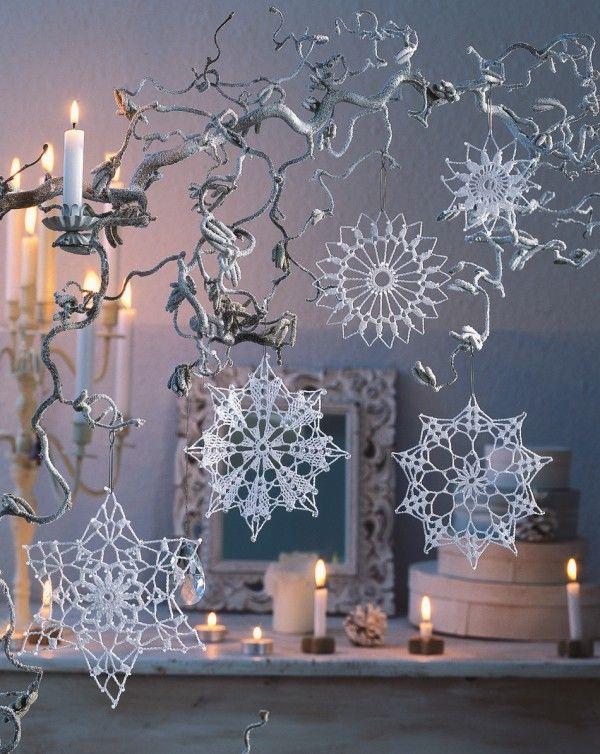 Kristalle und Untersetzer #crochetelements