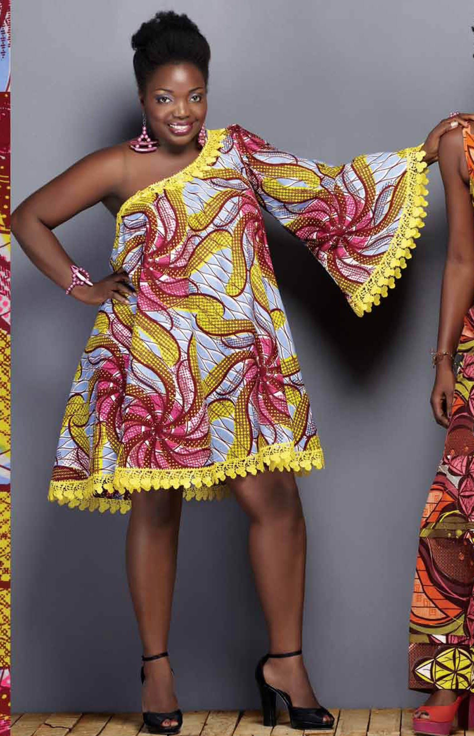UNIWAX Magazine Wax fashion Mode Africaine GisèleBolaty
