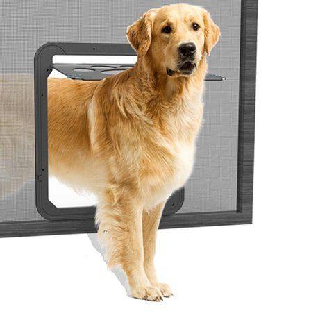 Screen Door With Pet Door Dog Screen Door Screen Door For Dogs