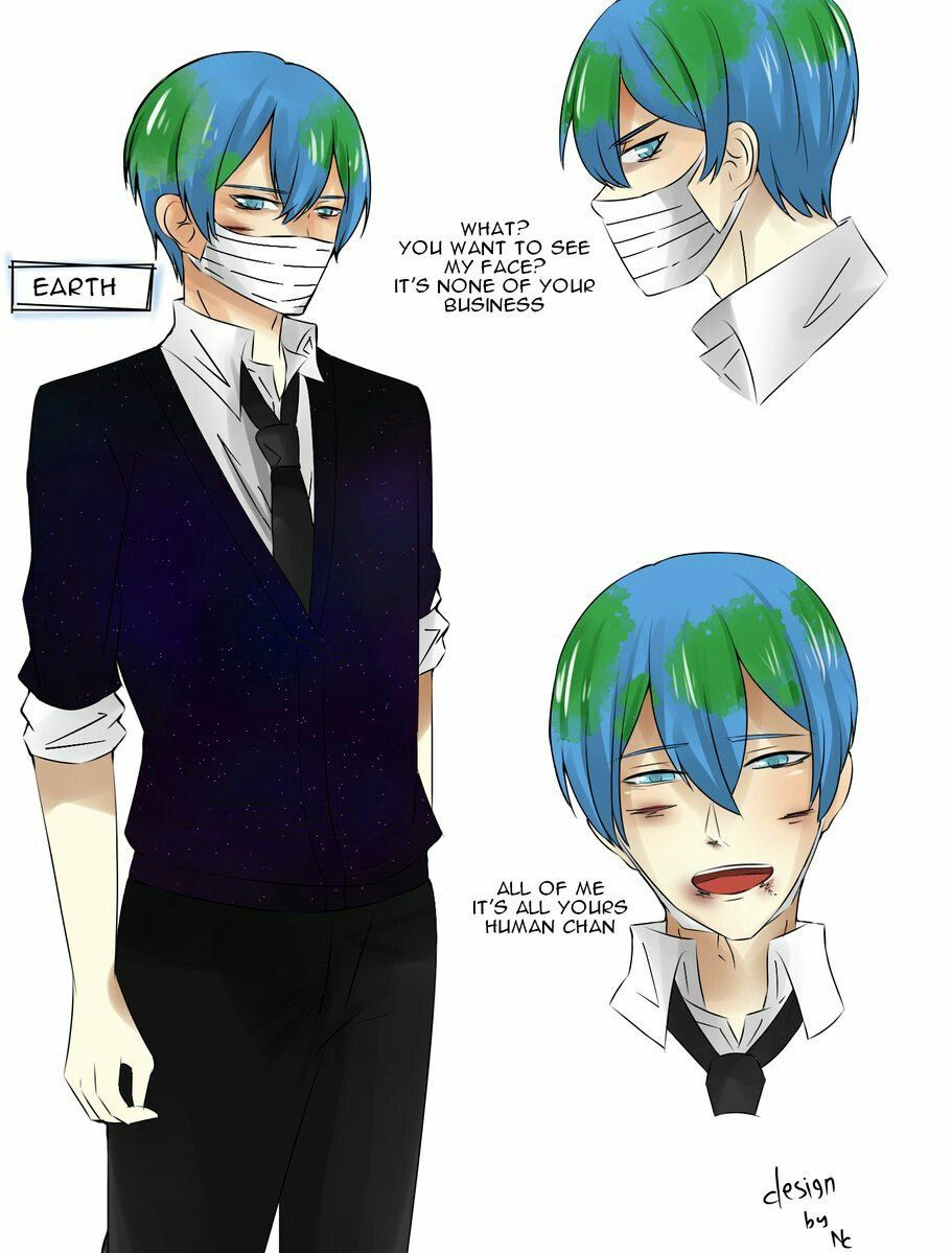 21 Best Earth Chan Images On Pinterest In 2018