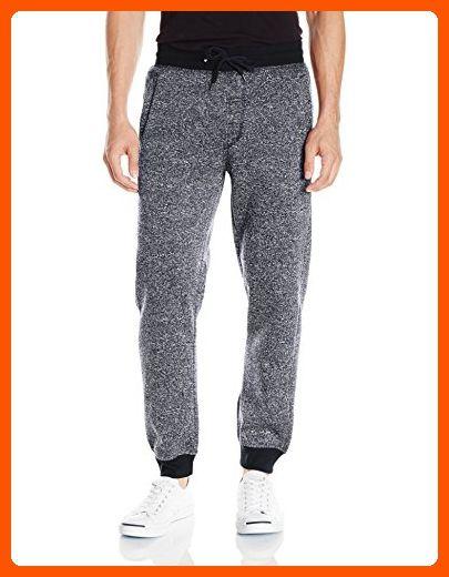 View adidas Originals Mens Sport Essentials Fleece Pants Joggers Men Joggers for Men COLOUR-medium grey heather