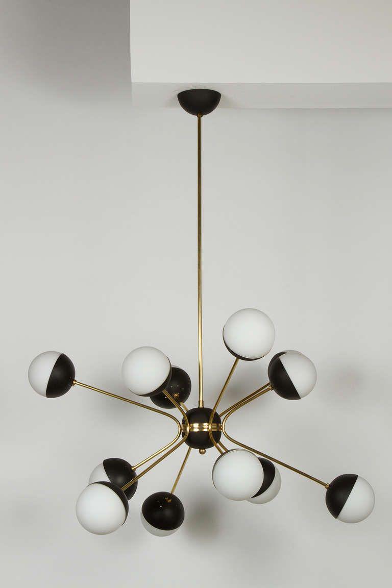 Rewire custom orb chandelier orb chandelier chandeliers and lights custom rewire orb chandelier in the style of stilnovo arubaitofo Gallery