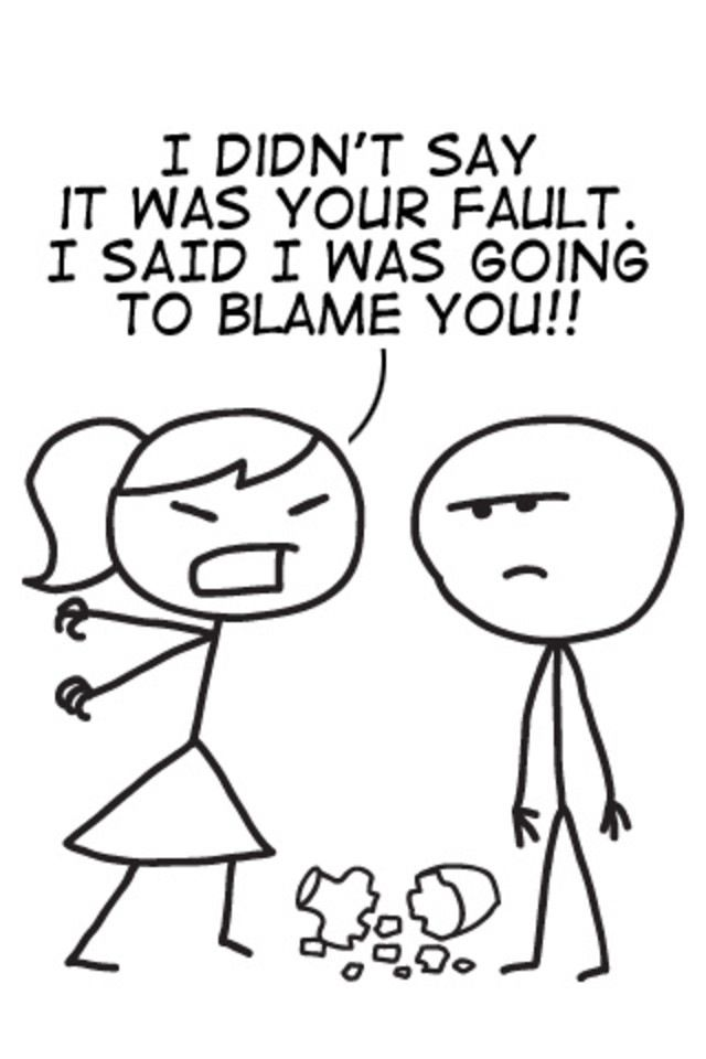 The Blame Game Sibling Quotes Funny Quotes For Teens Funny Quotes