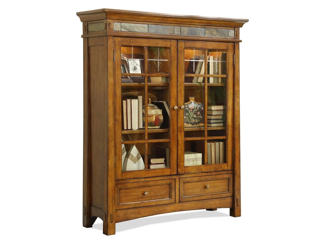 Comfortable 15 Home Office With Bookshelves On Riverside Home Office Door  Bookcase 2937 Kaplans Furniture
