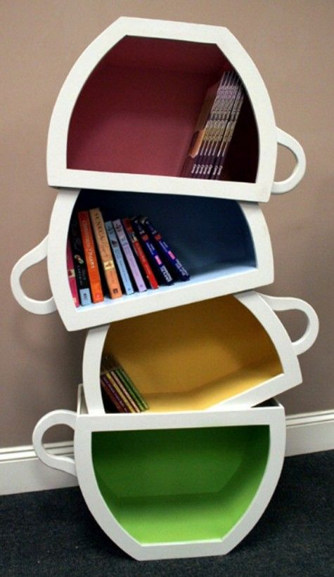37 Creative Ideas For Decorating With Rustic Corbels: #37 DIY Bookshelf Ideas: Unique And Creative Ideas