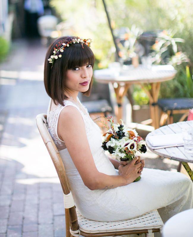 6 Stylish Wedding Hairstyles for Short Hair!
