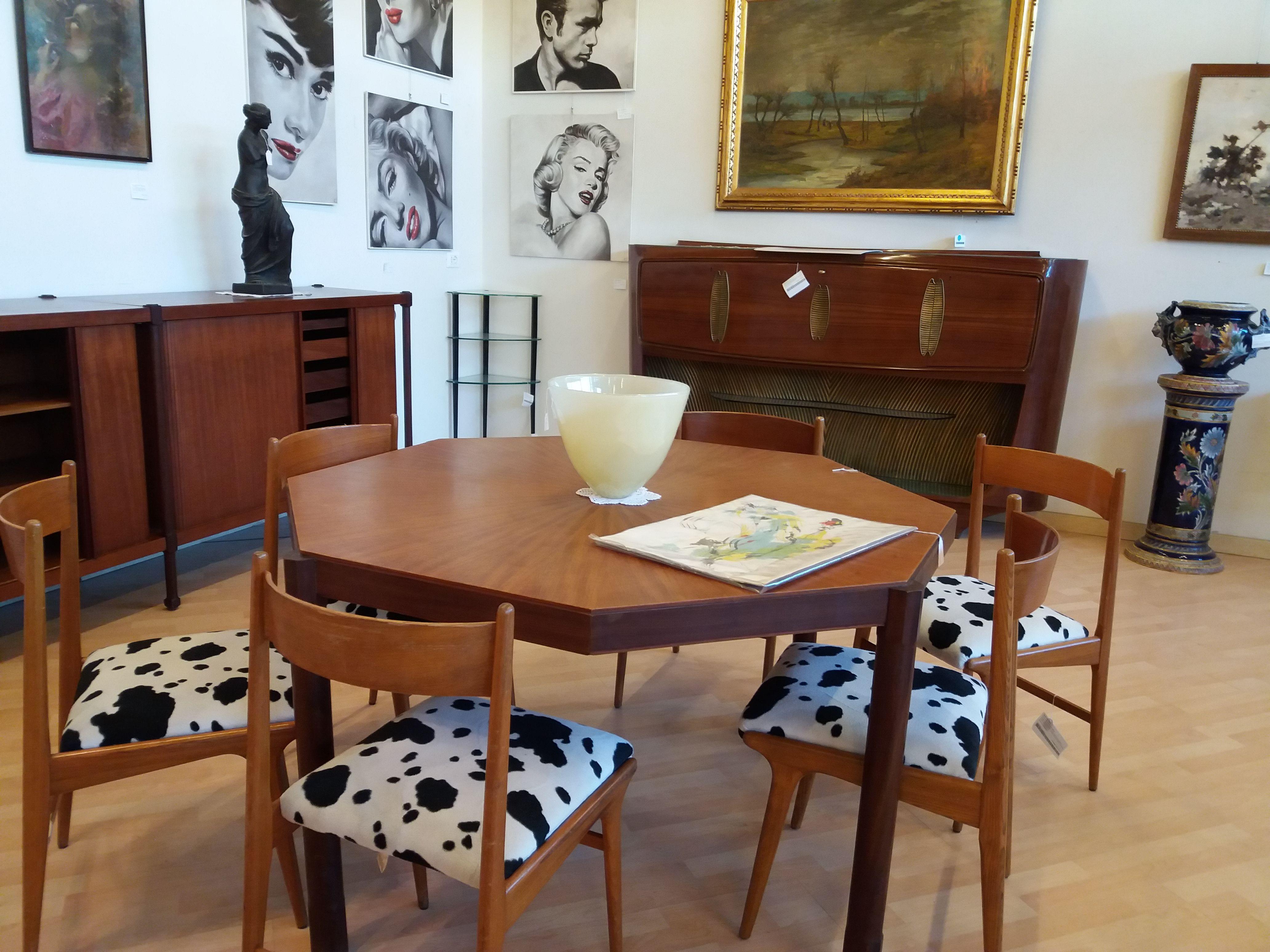 Arredamento Anni 50 60 : Allestimento d interni vintage con arredamento di design anni
