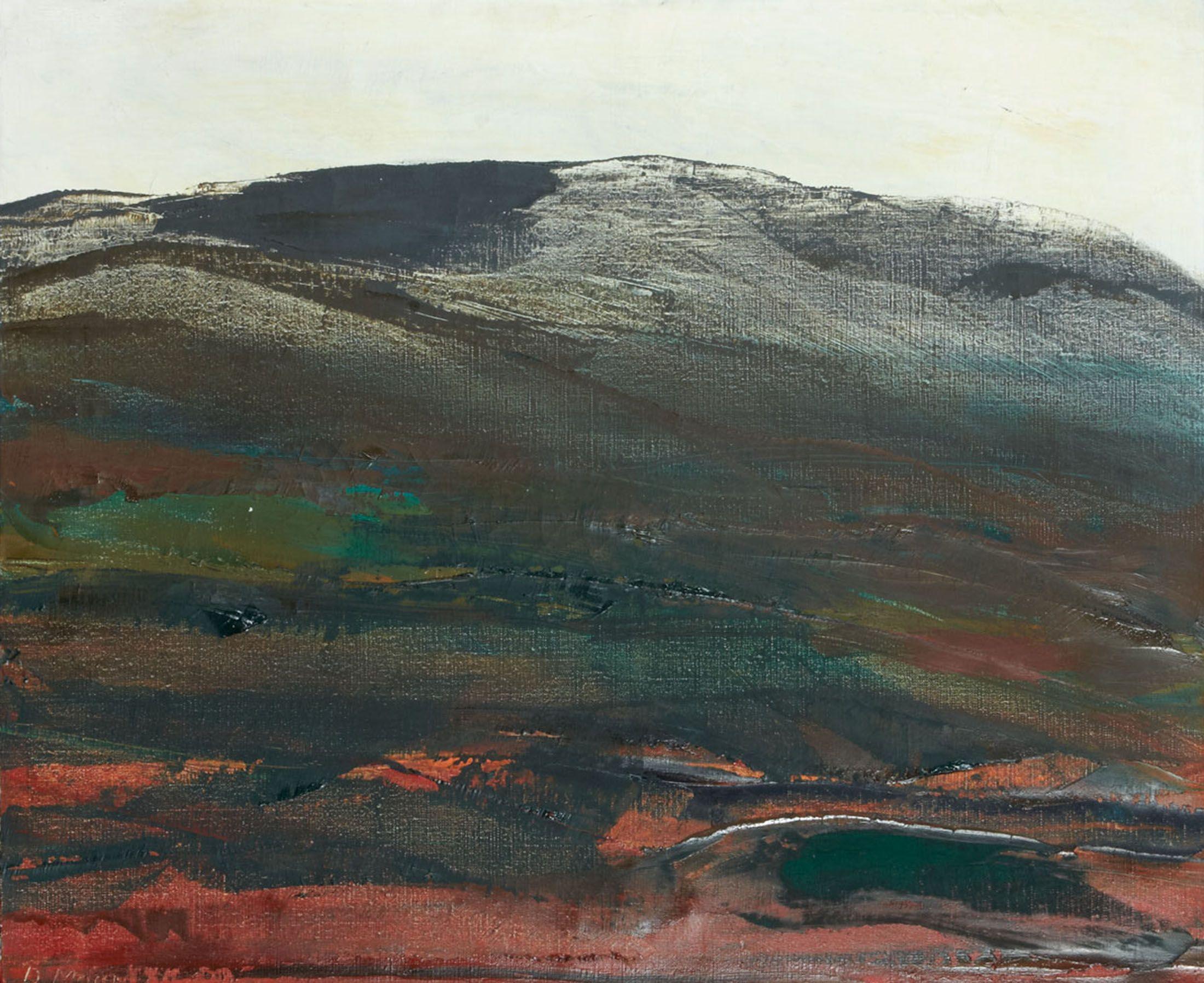 Paysage 2000 se rapportant à dora maar (1907-1997) paysage, 1957 huile sur toile sold 2000€ with