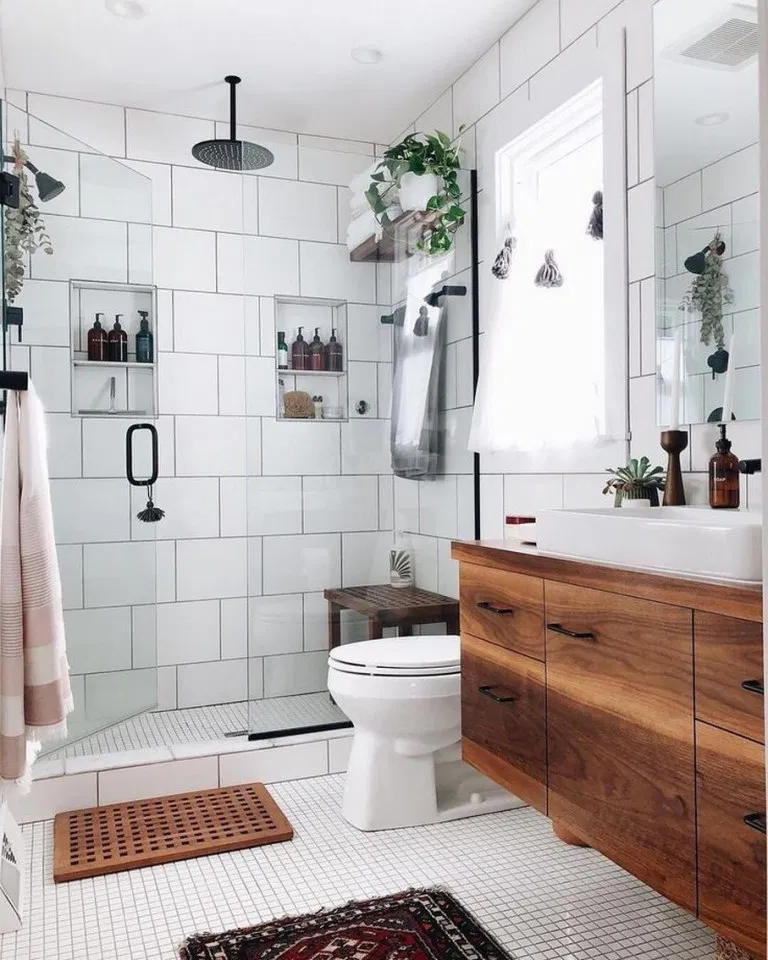 54 Cute Apartment Bathroom Decorating And Floating Shelves Ideas Bright Trends Style