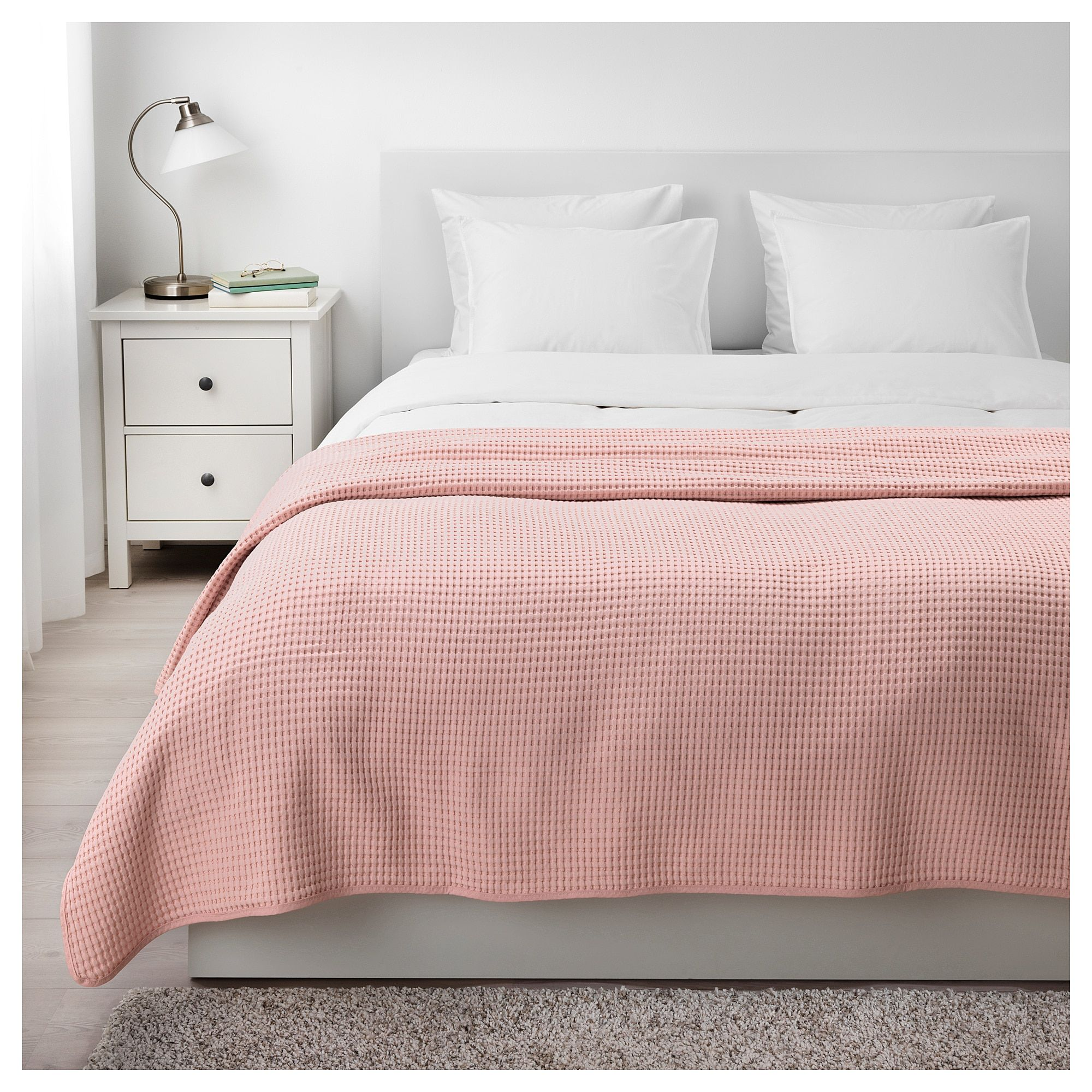 Ikea V 197 Reld Bedspread Light Pink Products In 2019 Bed Spreads Pink Bedspread Ikea Bedspreads