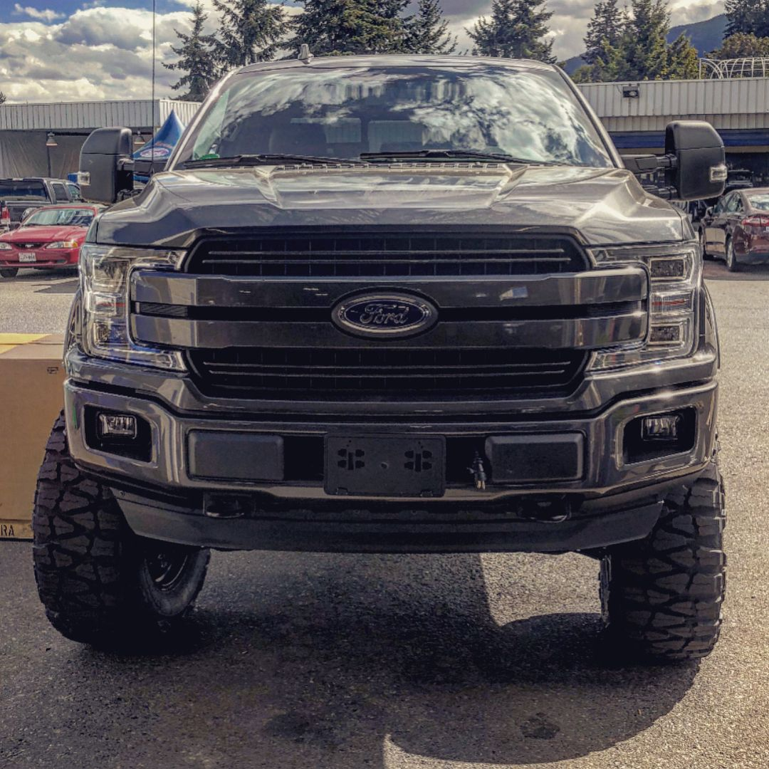 Lugnation Superlift F150 Ford Lifted Fuel Hostile Superliftsuspension F150diesel Powerstroke Stance O Ford Super Duty Trucks Ford Trucks Big Trucks