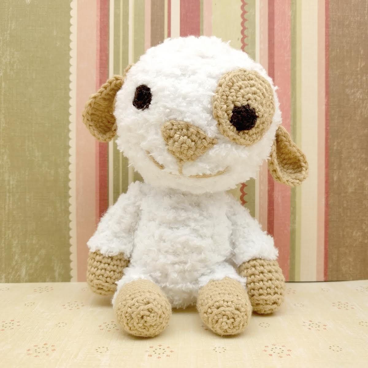 Kostenfreie Anleitung Für Sanny Das Braunäugige Schaf Von Parivonne