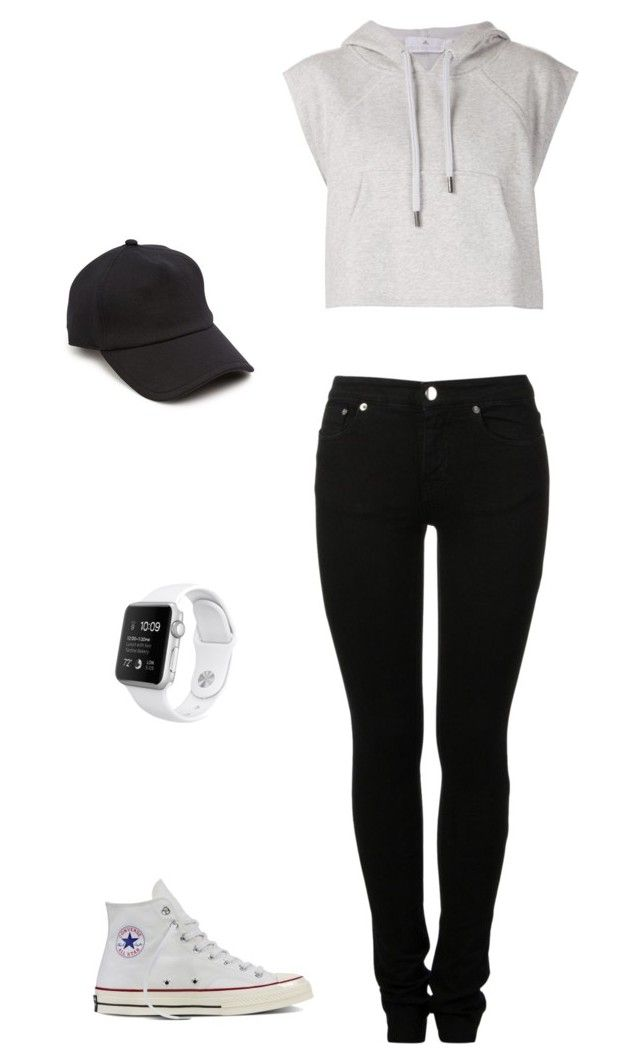 """""""Untitled #5"""" by antoni-huggins on Polyvore featuring MM6 Maison Margiela, adidas, Converse and rag & bone"""