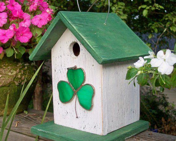 St. Patty`s Birdhouse