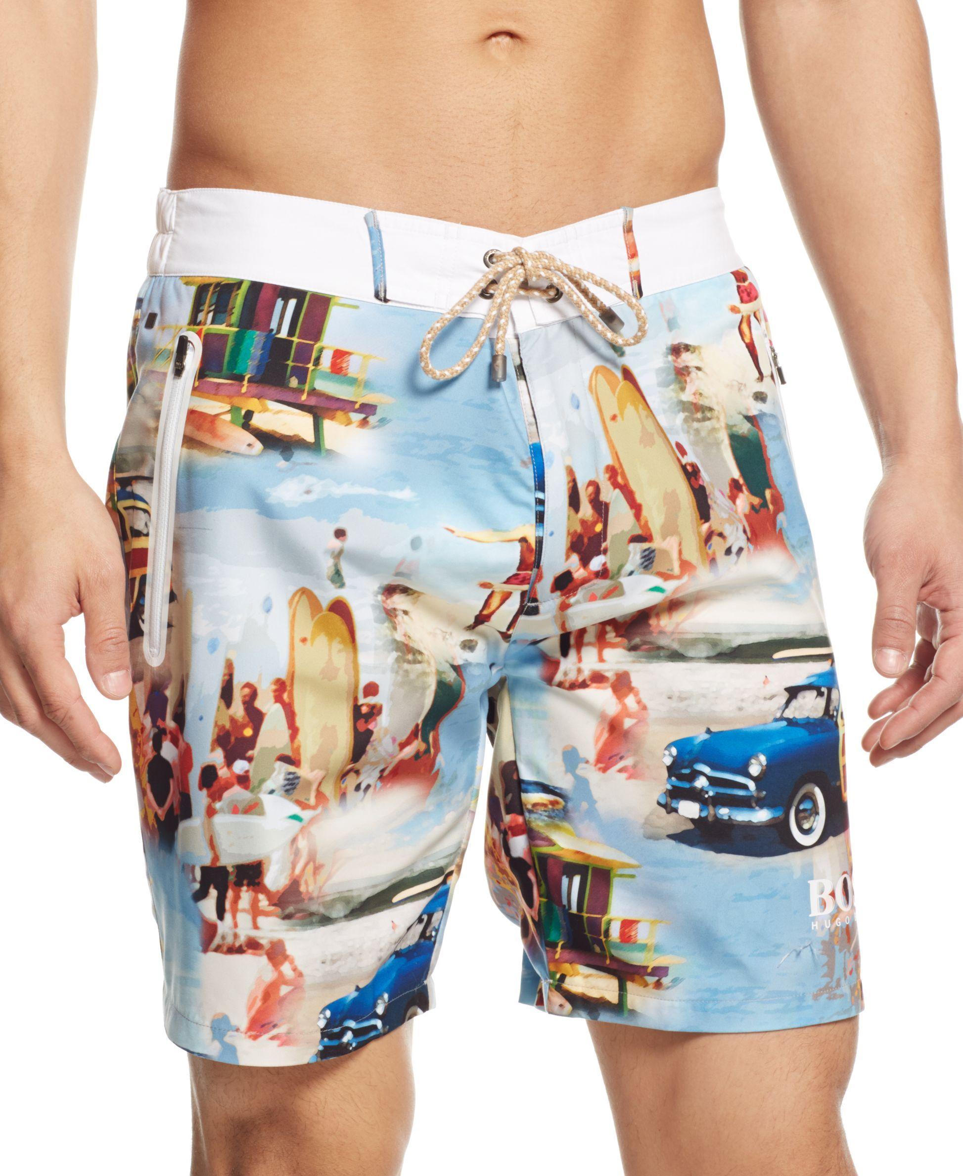 30797a7a24 Boss Hugo Boss Cavefish Swim Shorts | Shoes | Swim shorts, Hugo boss ...