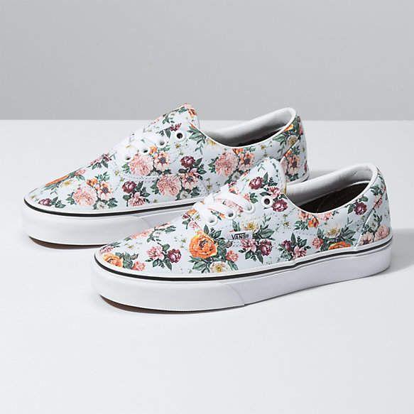 vans garden floral