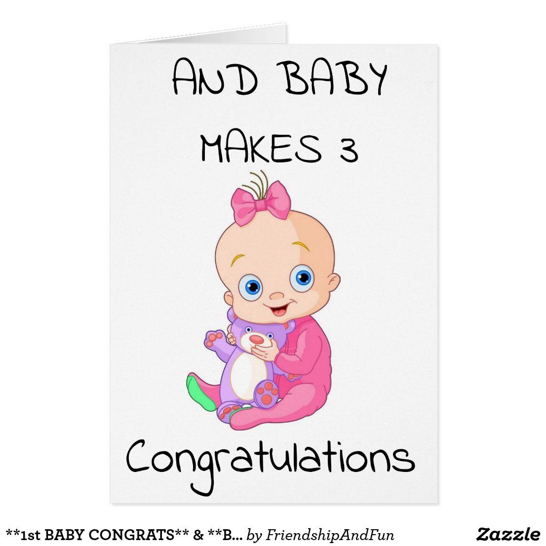 congratulations baby card online