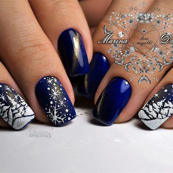 Christmas Diy Nail Ideas And More Of Our Manicures From: Manicure Nail Designs, Xmas