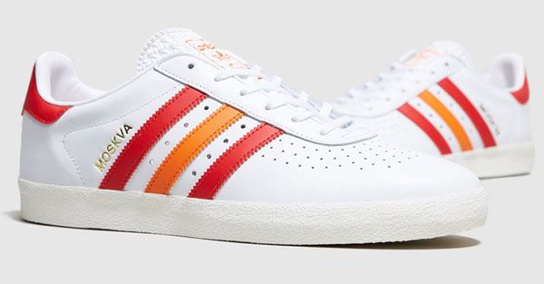 1a03838cf510 World Cup retro  The Adidas 350 Moskva trainers are a special edition  produced for the