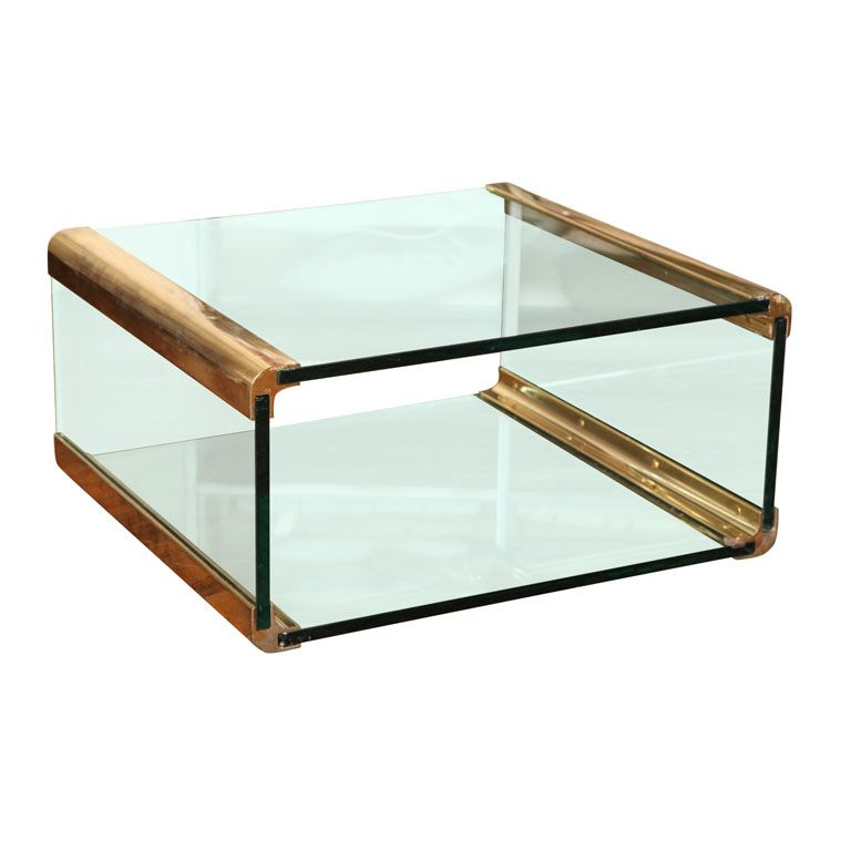 Bronze And Glass Coffee Table Glass Furniture Table Furniture