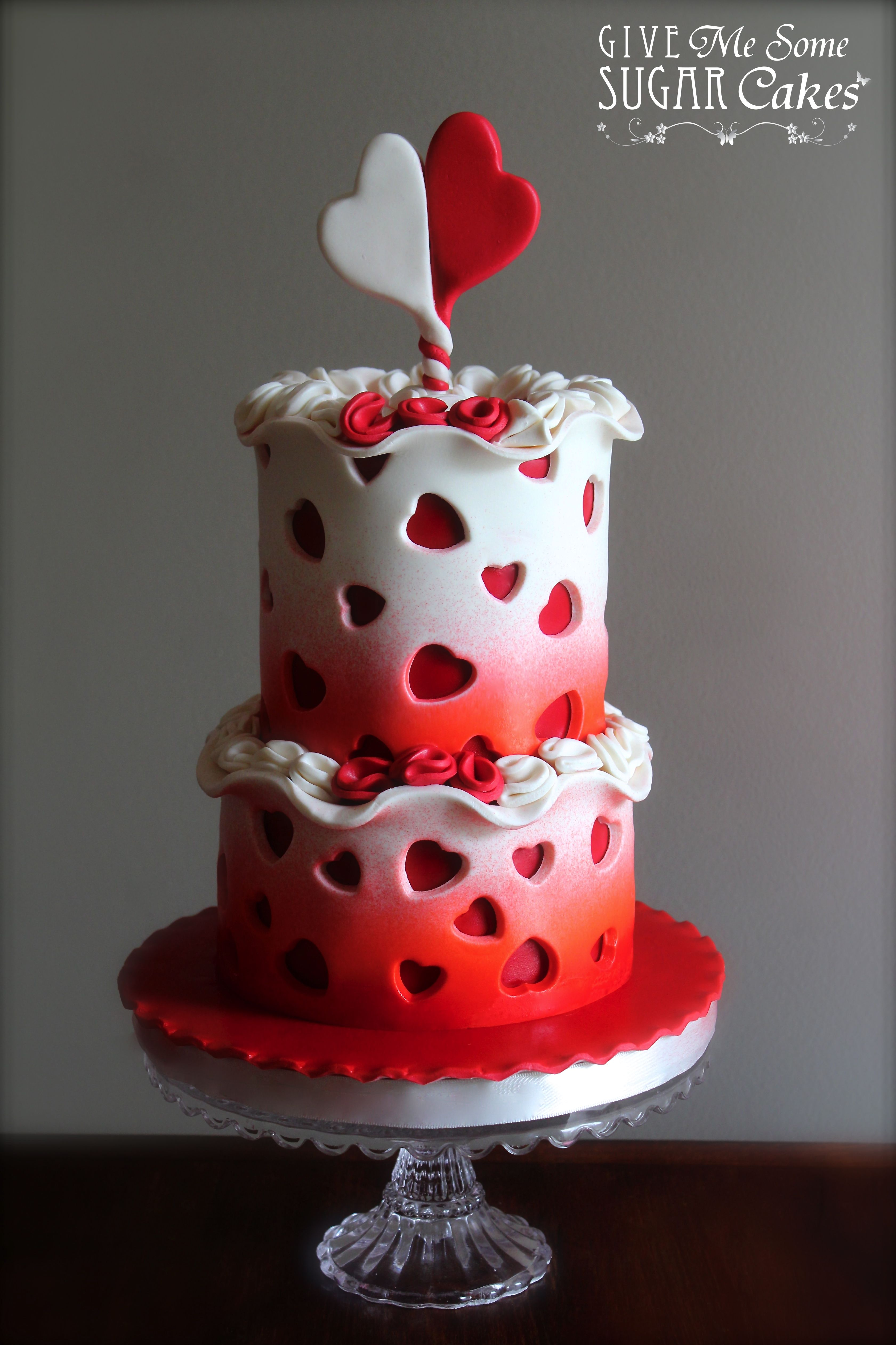 Love Is In The Air Valentine Cake Valentines Day Cakes Cool