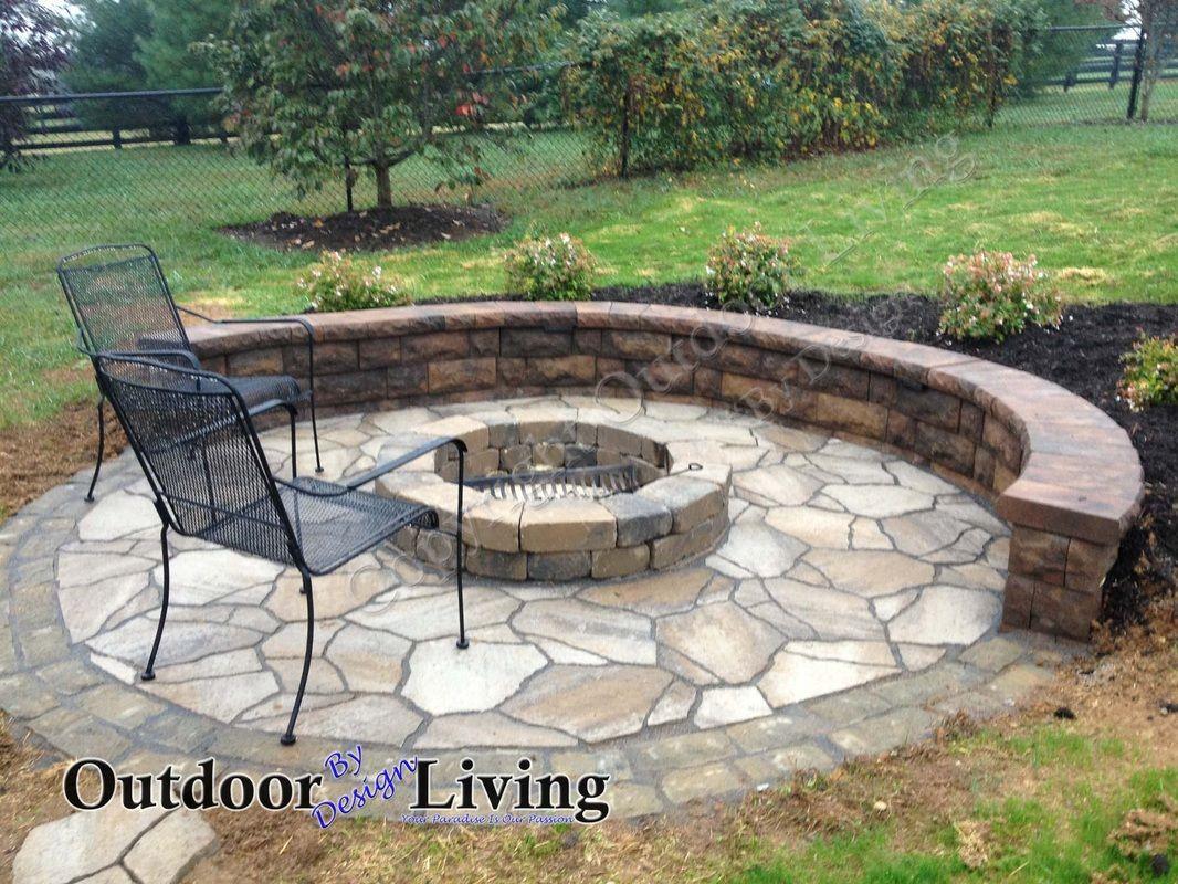 Outdoor Fireplaces Firepits Fire Pit Ideas Lexington Central Kentucky Ky Backyard Designs