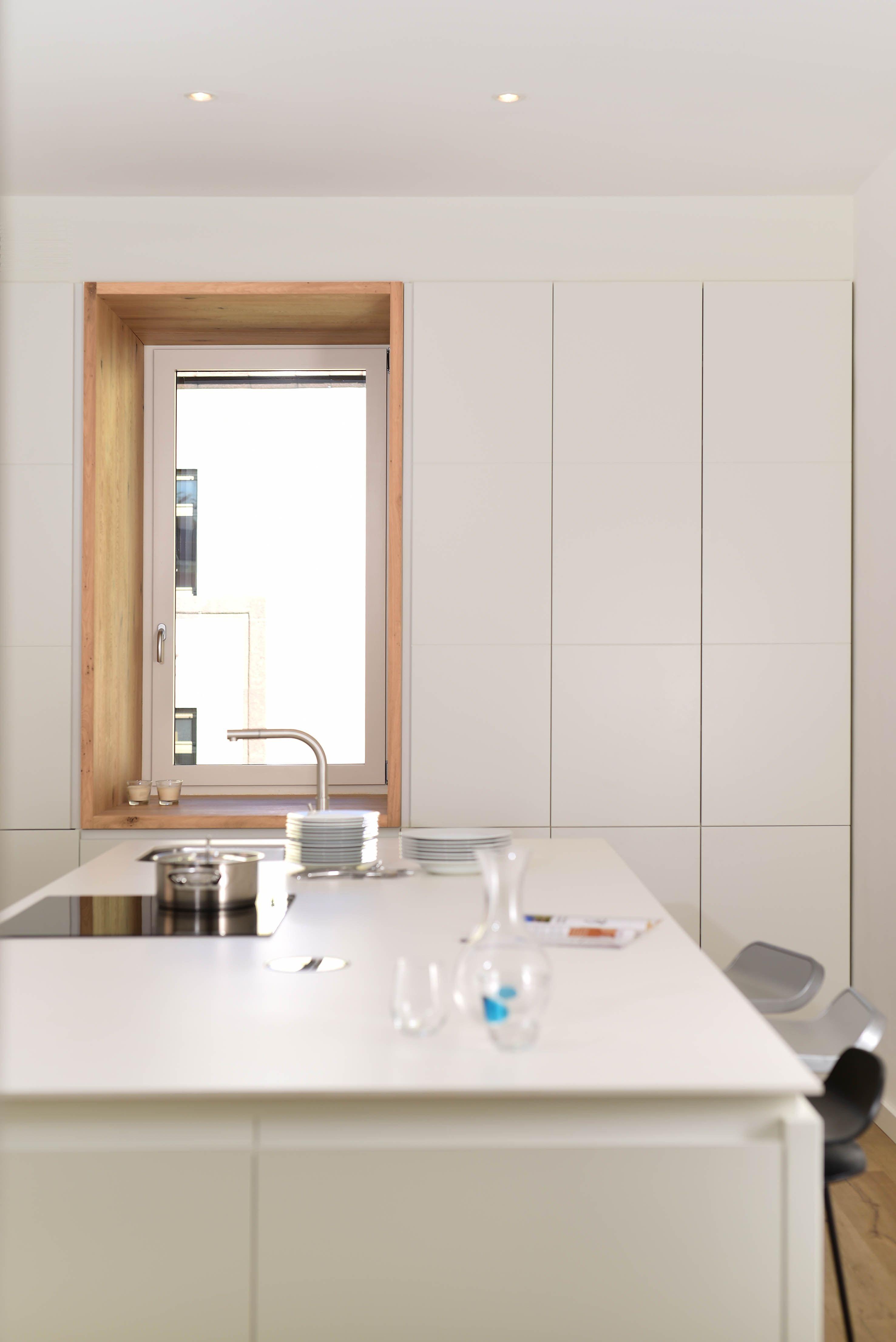 Belissima soluzione per la finestra in cucina! #Risanamento di ...