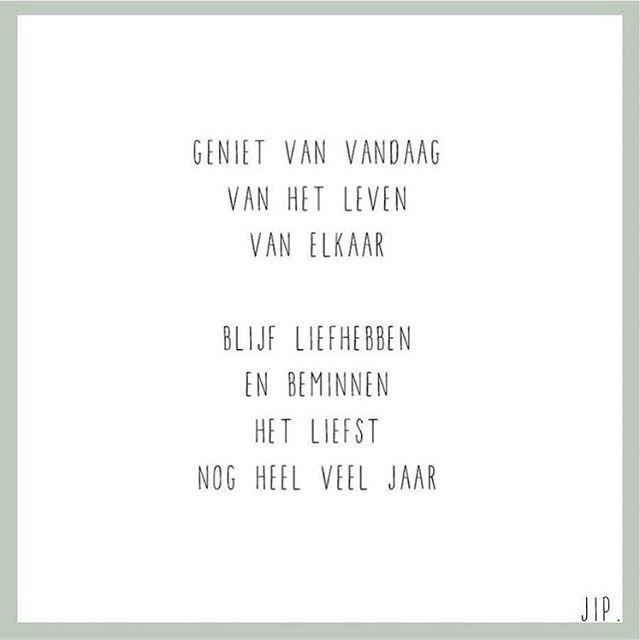 Gewoon Jip Korte Gedichten On Instagram Geniet Van Vandaag Happy Sunday X Jip Coole Woorden Spreuken Gezegden Over Het Leven