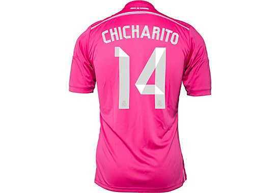 huge discount 549ba af09e adidas Chicharito Real Madrid Away Jersey 2014-15 | Players ...