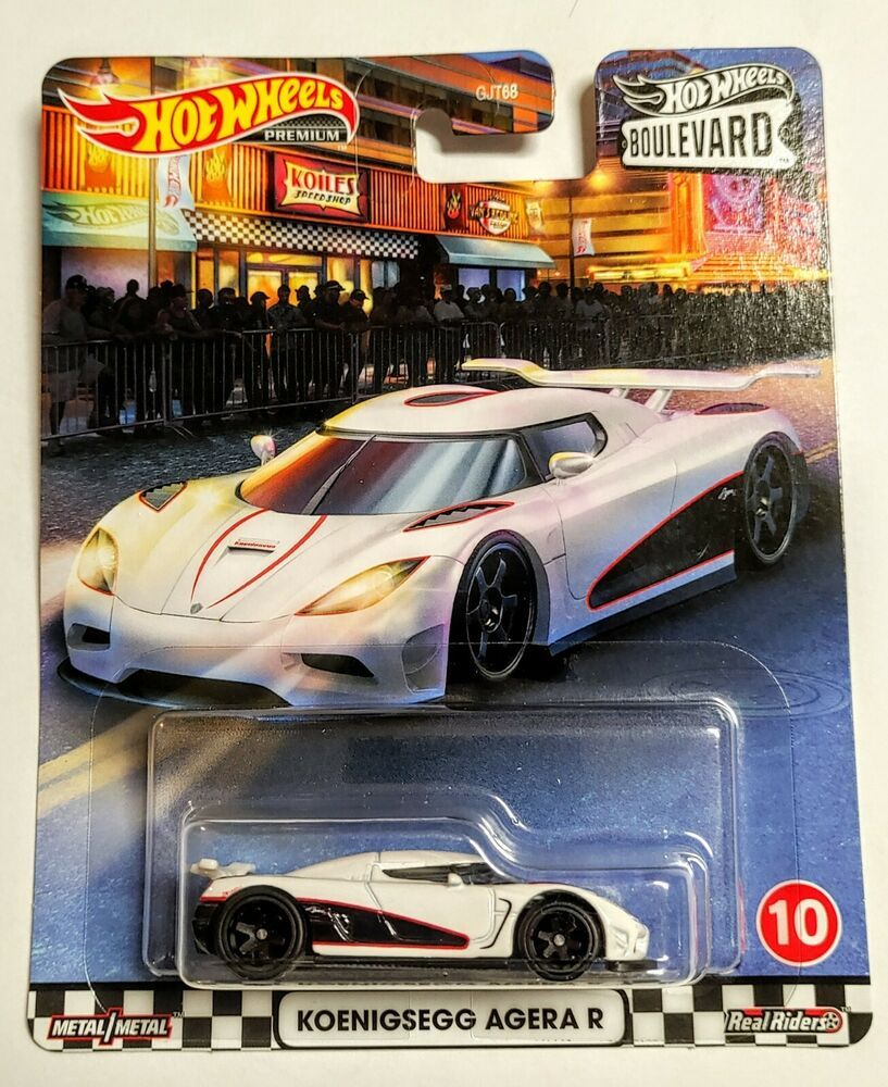 Details About Hot Wheels Premium 2020 Boulevard Series Mix 2 Koenigsegg Agera R New In 2020 Hot Wheels Koenigsegg Hot