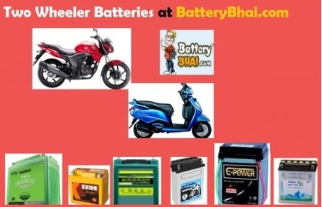 Buy Two Wheeler Batteries From For All Leading Scooter Or Bike