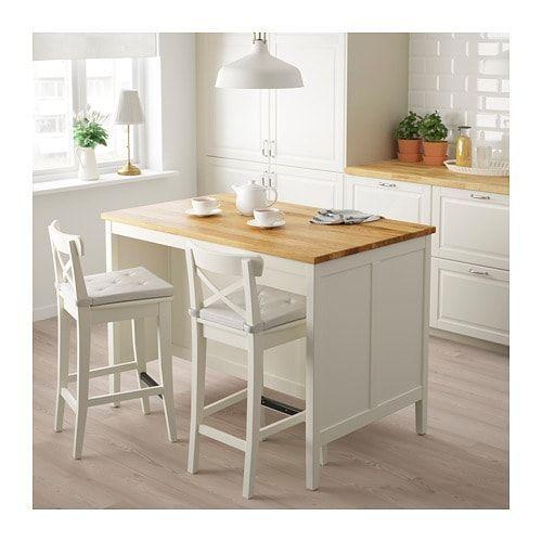 TORNVIKEN Kücheninsel, grau, Eiche. Hier entdecken IKEA