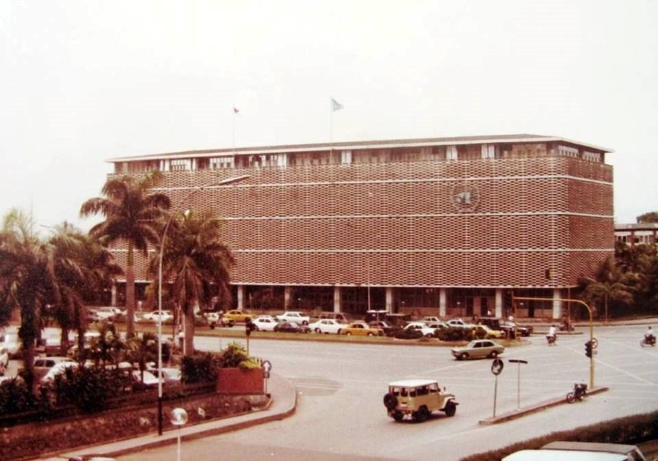 Gedung Pbb Jl Thamrin 1970 Historical Place Historical Pictures Indonesia