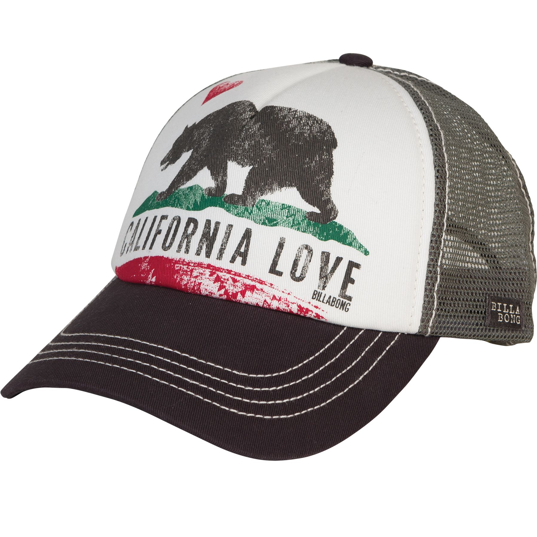 9da20f371b0 Billabong Pitstop Trucker Hat - Charcoal - JAHT1PIT